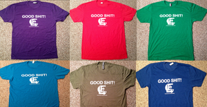 "Image of Liquid Fiction Records ""Good Shit!"" (6) T-Shirt Collection! ALL COLORS!"