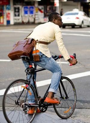 Image of Handmade Genuine Leather Briefcase Messenger Laptop Bag for Gentlemen - TREASURE (n363)