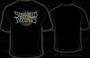 Image of Scrambled Defuncts - logo t-shirt