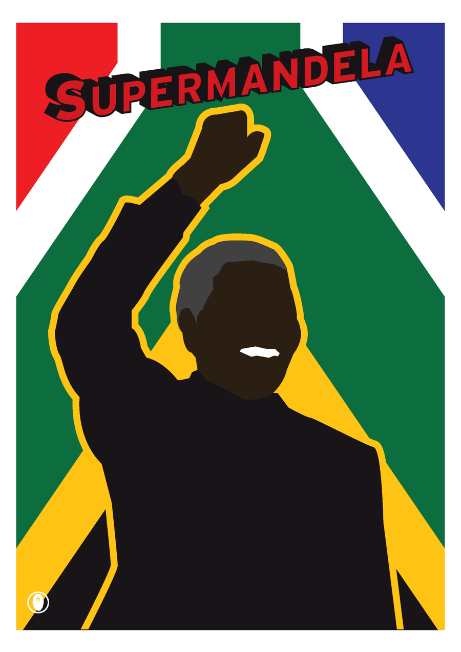 Image of 'SUPERMANDELA'