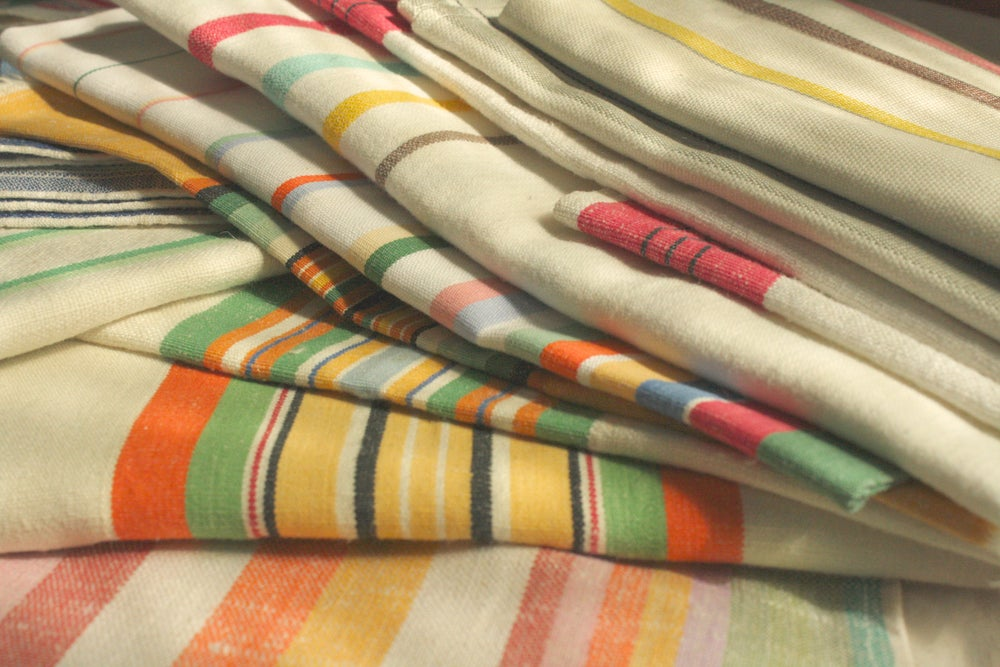 Image of Striped Kitchen Towels