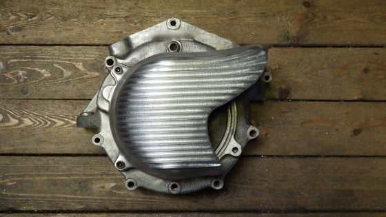 Image of One peice Front pulley cover fits big twin 70 thru 84'