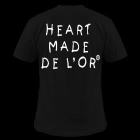 """Image of  """"Heart Made Of Gold"""" Logo T-Shirt (Noir)"""