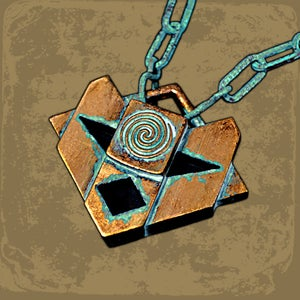 Image of Atlantean medallion