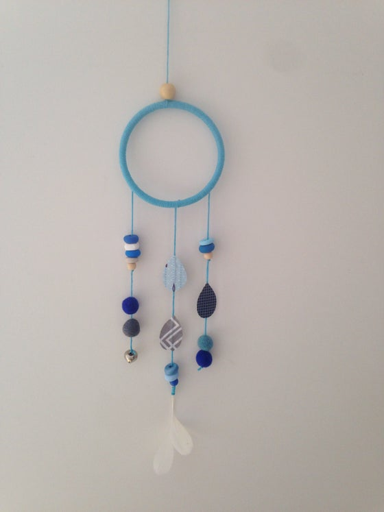 Image of Blue Dream Catcher Wall Hanging