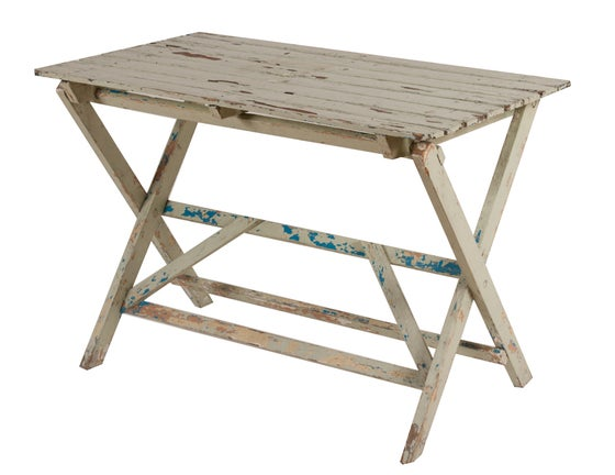 Image of French Farmhouse Folding Garden Table