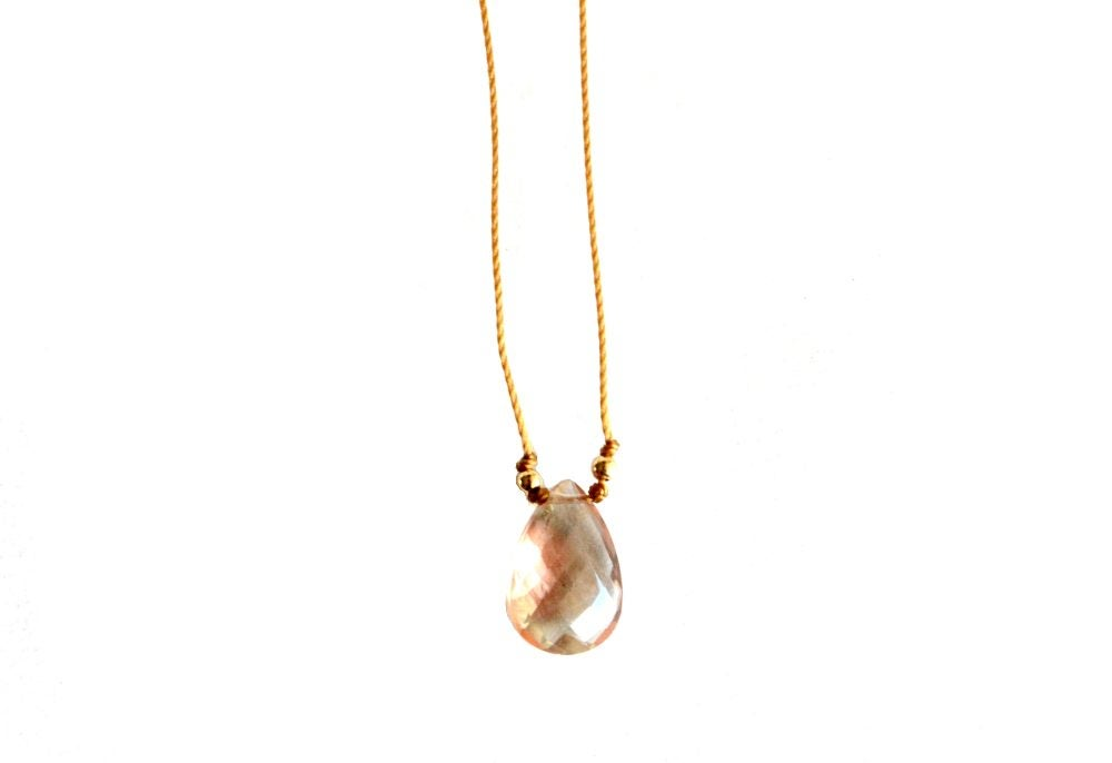 Image of Oregon Sunstone necklace