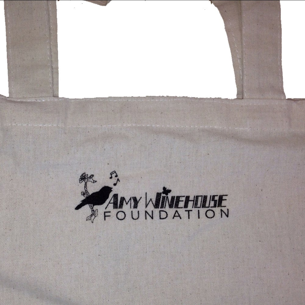 Image of Amy Winehouse Foundation Tote Bag