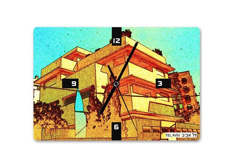Image of Bauhaus Tel Aviv clock 7  -by Ofek Wertman