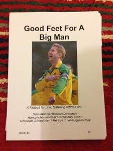 Image of Good Feet For A Big Man fanzine: Issue 3