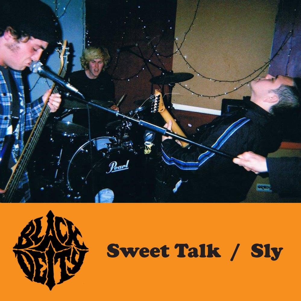 "Image of Black Deity - Sweet Talk / Sly 7"""