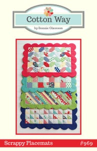 Image of Scrappy Placemats Paper Pattern #969