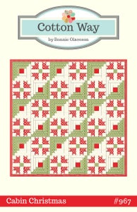 Image of Cabin Christmas Paper Pattern #967