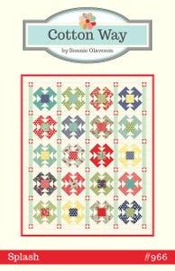 Image of Splash Paper Pattern #966