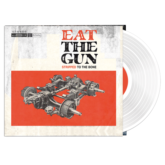 Image of STRIPPED TO THE BONE - White Vinyl + CD