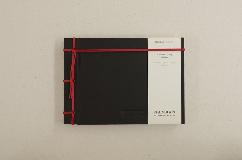 Image of Caderno regular aguarela | Regular watercolour notebook A6