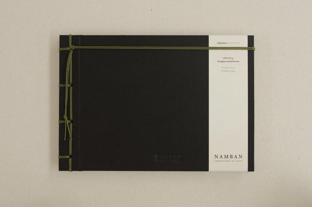 Image of Caderno tríptico liso | Triptych plain notebook A5
