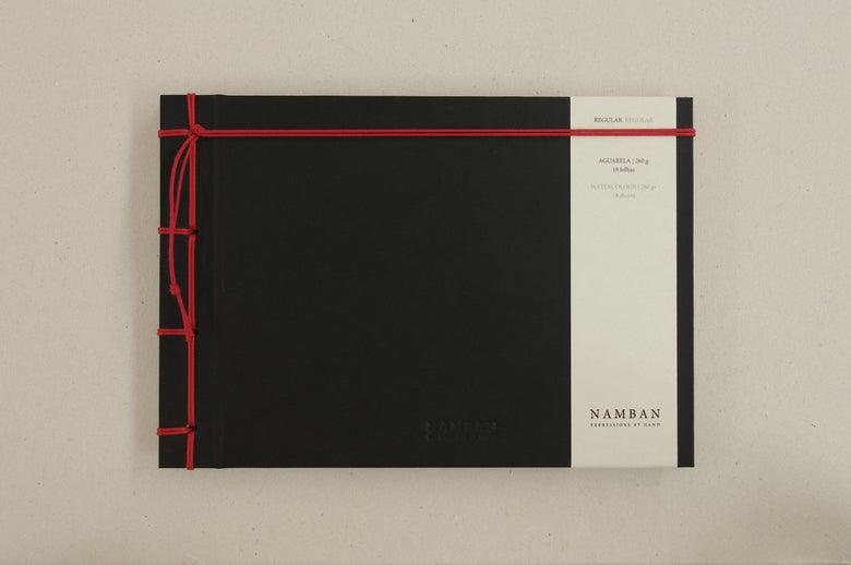 Image of Caderno regular aguarela | Regular watercolour notebook A5