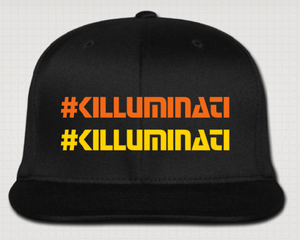 Image of :: #KILLUMINATI :: Flat Brim Cap