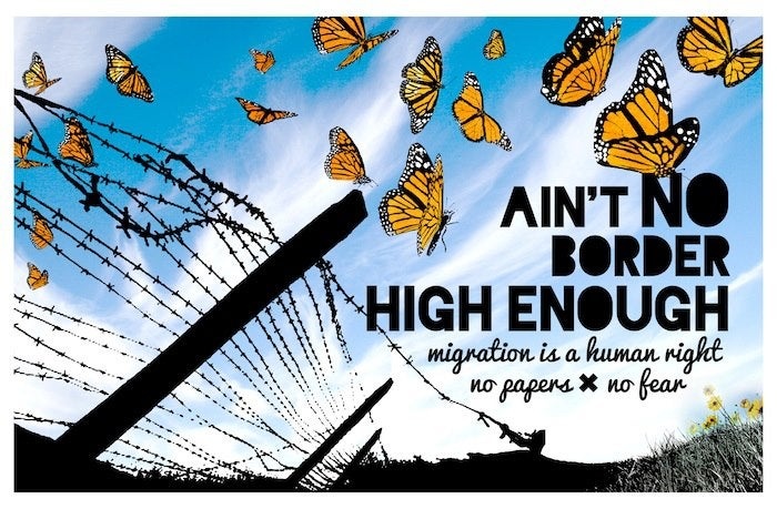 Image of Ain't No Border High Enough Poster