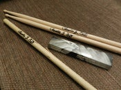Image of Charlie Z Signed Single Used Drumstick or Pair