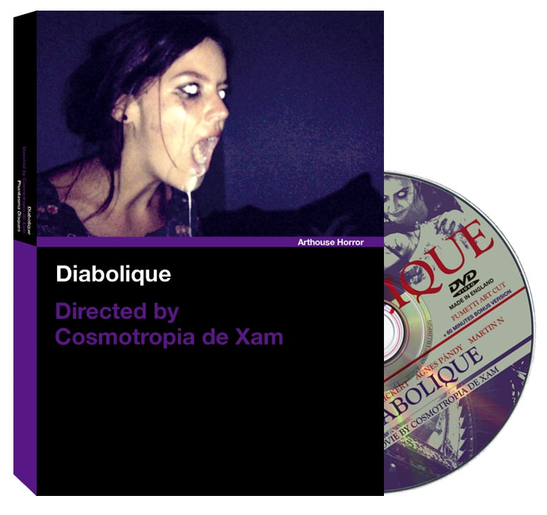Image of PD-DVD-A001 DIABOLIQUE (Standard White Amaray Edition)