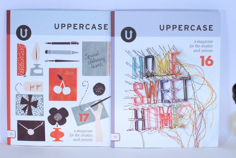 Image of Uppercase Magazine - Back Issues