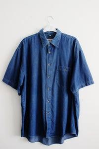 Image of Men's Cotton Denim Shirt