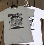 Image of Foxtails Brigade T-Shirt Design By R. Black