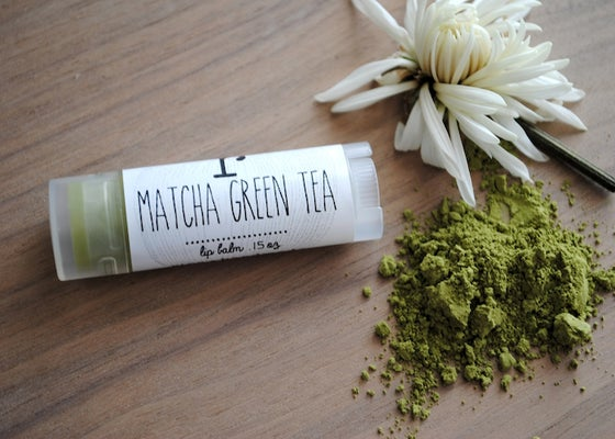 Image of Matcha Green Tea Lip Balm