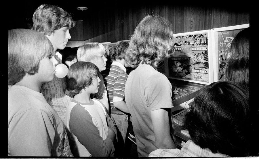 Image of Mid 1970's pinball