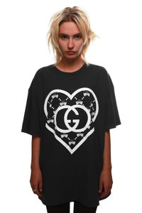 Image of LOVE ORGANIC T-SHIRT BLACK