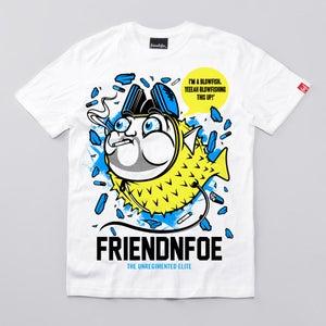 Image of 'I'm a blowfish! YEEAH!'