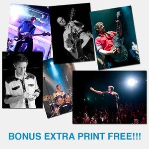 Image of Set of 5 Band Prints + Exclusive Bonus Print