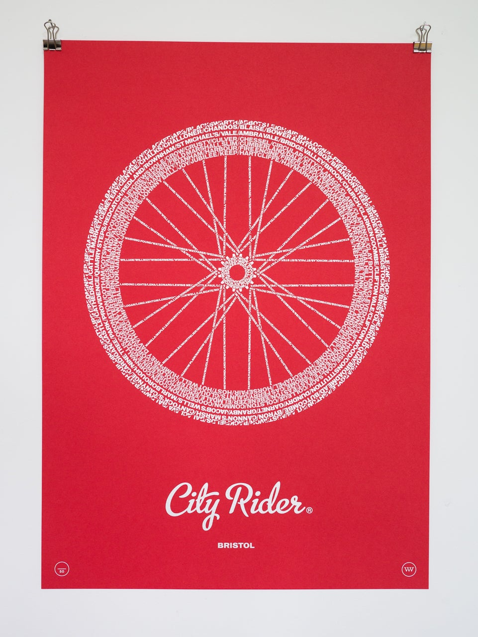 Image of City Rider, Bristol (Bright Red)