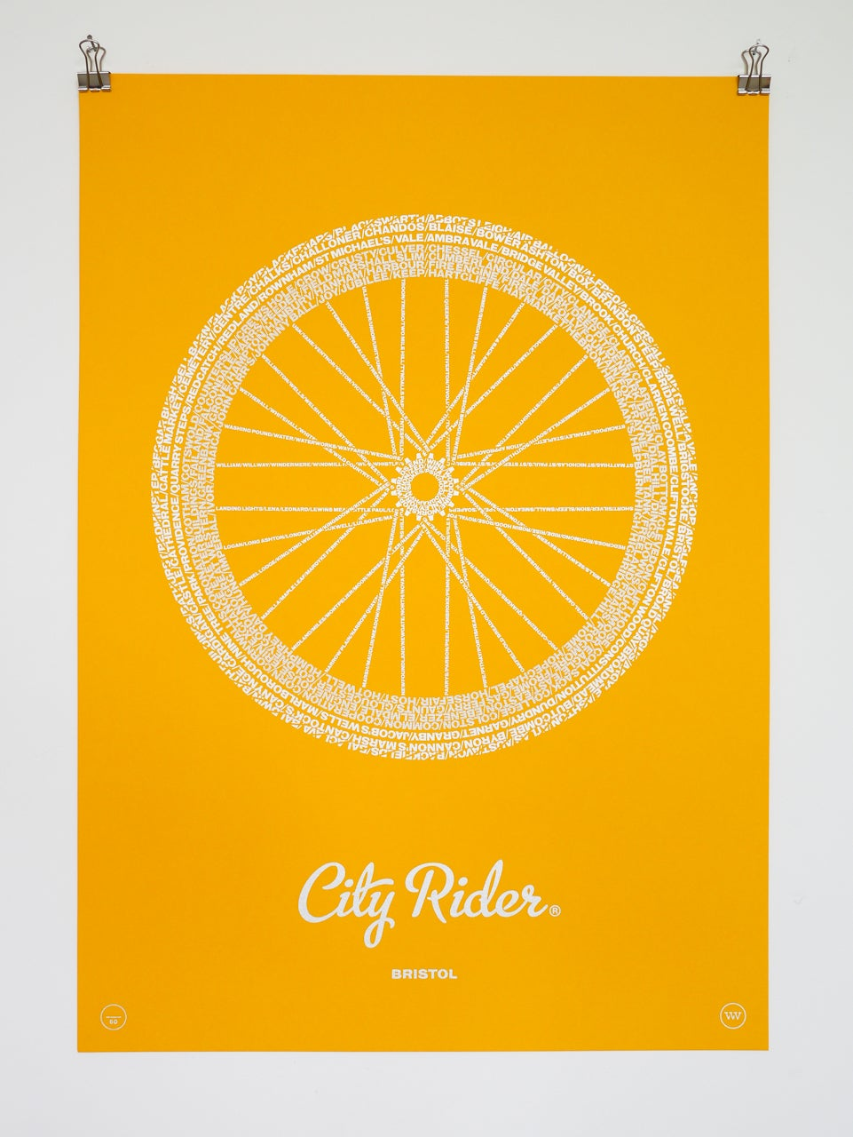Image of City Rider, Bristol (Citrine)