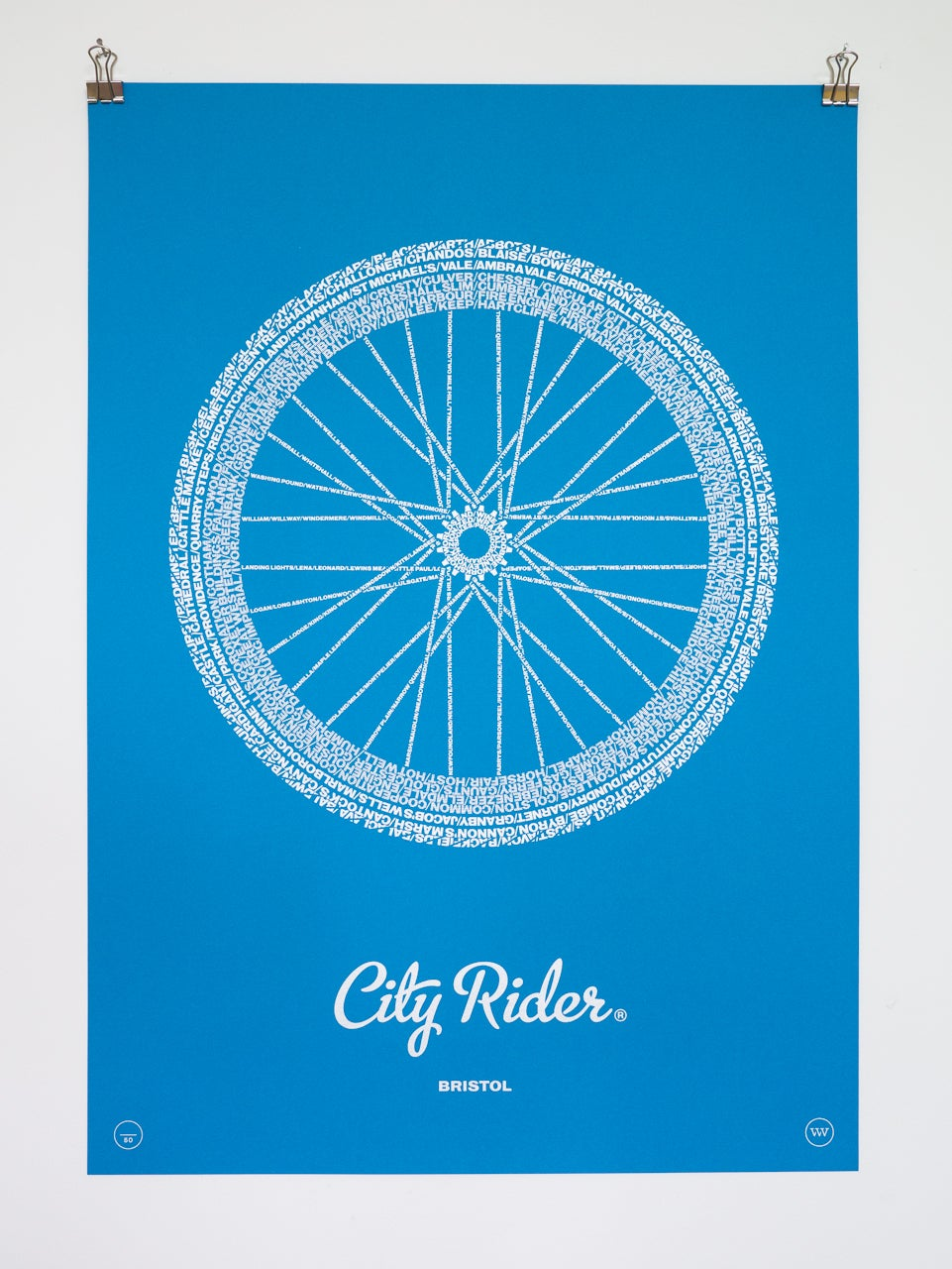 Image of City Rider, Bristol (Tabriz Blue)