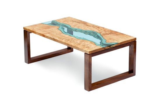 Image of river coffee table
