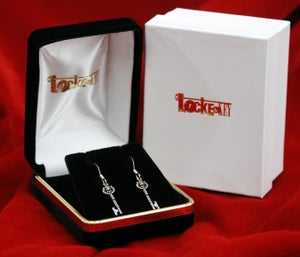 Image of Locke & Key: Ghost Key earrings - SOLD OUT