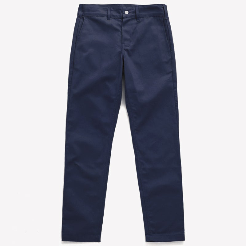 "Image of M.S.S. ""TrimTab"" Uniform Canvas Chinos - NAVY"