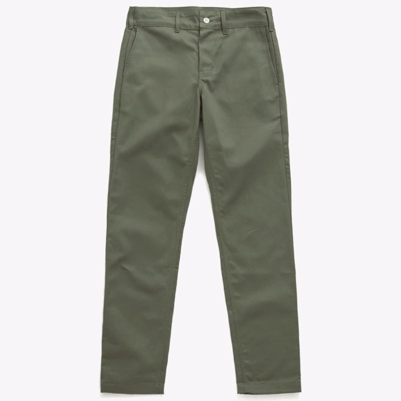 "Image of M.S.S. ""TrimTab"" Uniform Canvas Chinos - ARMY"