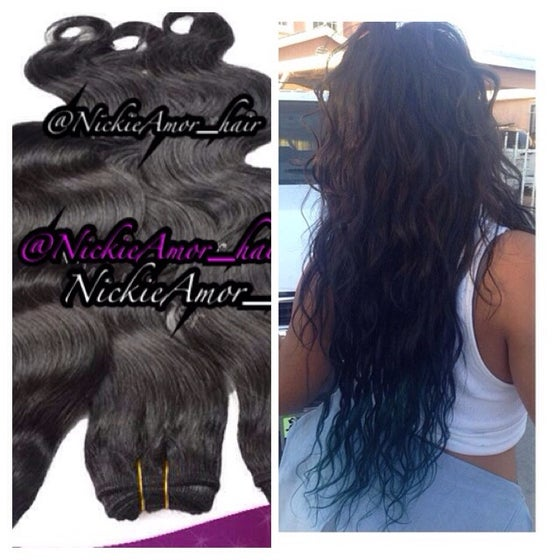 Image of Malaysian, Peruvian an Indian Remy Hair