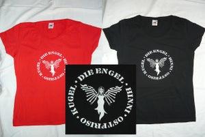 """Image of Girl-Shirt """" Die Engel Namen"""""""