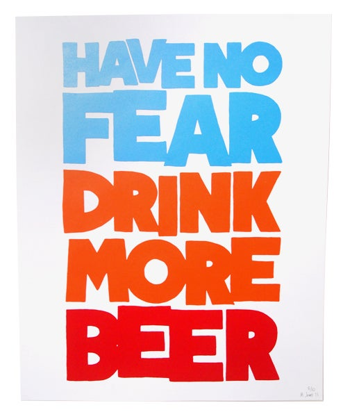 Image of Have No Fear Print