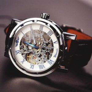 Image of Men's Watch / Vintage Watch / Handmade Watch / Leather Watch / Mechanical Watch (WAT0041-4)