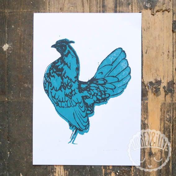 Image of Chicken Screen Print