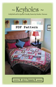 Image of PDF Keyholes Pattern