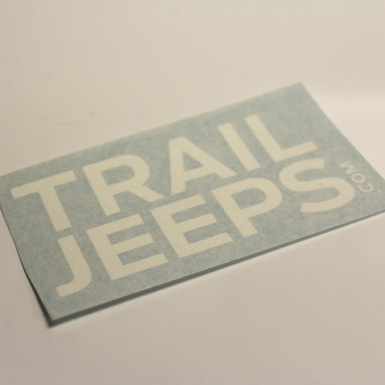 Image of Trail Jeeps Decals