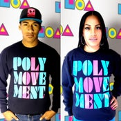 Image of POLYMOVEMENT SWEATER- RETRO PMM13