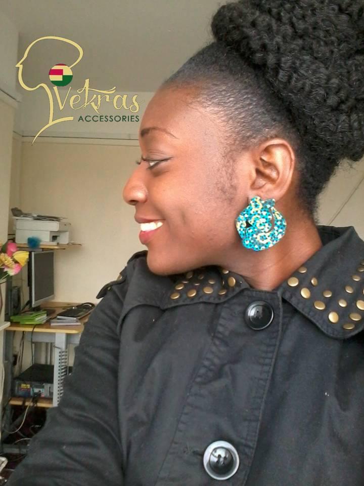 Image of Vekras Gye Nyame Earrings